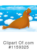 Royalty-Free (RF) Seal Clipart Illustration #1159325