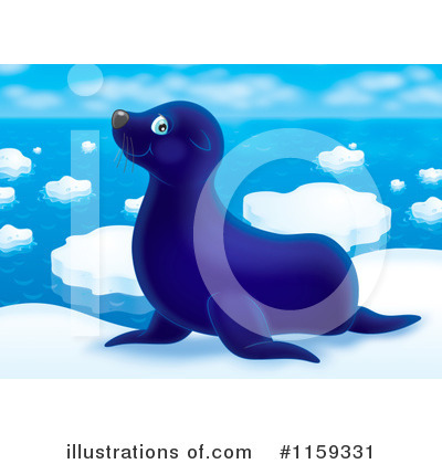 Seal Clipart #1159331 by Alex Bannykh