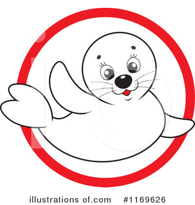 Seal Clipart #1169626 by Alex Bannykh