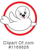 Royalty-Free (RF) Seal Clipart Illustration #1169626