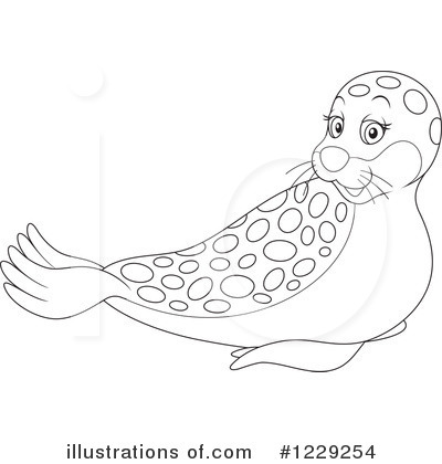 Seal Clipart #1229254 by Alex Bannykh