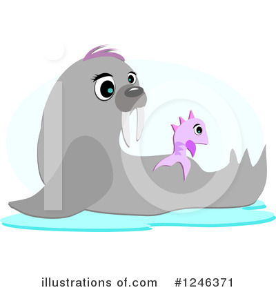 Seal Clipart #1246371 by bpearth