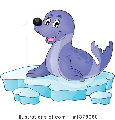Seal Clipart #1378060 by visekart