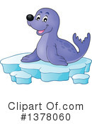 Royalty-Free (RF) Seal Clipart Illustration #1378060