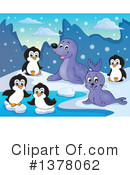 Royalty-Free (RF) Seal Clipart Illustration #1378062