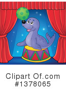 Royalty-Free (RF) Seal Clipart Illustration #1378065