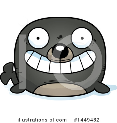 Seal Clipart #1449482 by Cory Thoman