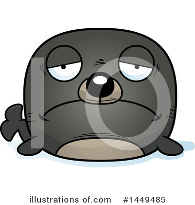 Seal Clipart #1449485 by Cory Thoman
