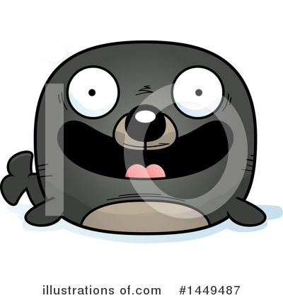 Seal Clipart #1449487 by Cory Thoman