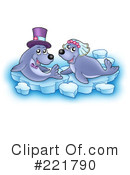 Royalty-Free (RF) Seal Clipart Illustration #221790