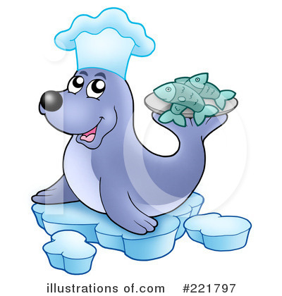 Seal Clipart #221797 by visekart