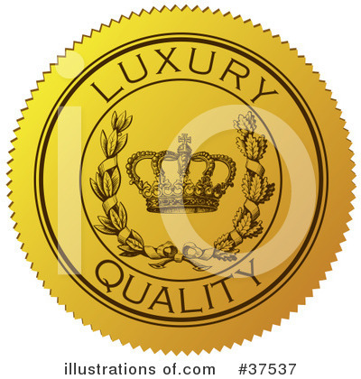 Royalty-Free (RF) Seal Clipart Illustration by Eugene - Stock Sample #37537