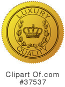 Royalty-Free (RF) Seal Clipart Illustration #37537