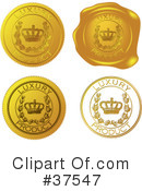 Royalty-Free (RF) seal Clipart Illustration #37547