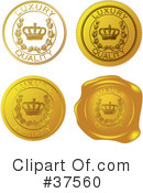 Royalty-Free (RF) Seal Clipart Illustration #37560