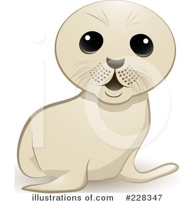 Seal Clipart #228347 by elaineitalia