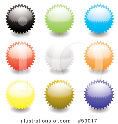 Royalty-Free (RF) Seals Clipart Illustration by michaeltravers - Stock Sample #59017