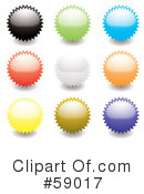 Royalty-Free (RF) Seals Clipart Illustration #59017