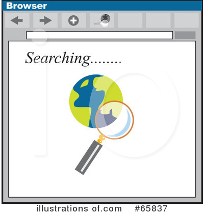 Royalty-Free (RF) Searching Clipart Illustration by Prawny - Stock Sample #65837
