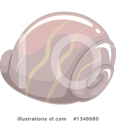 Seashell Clipart #1346680 by BNP Design Studio