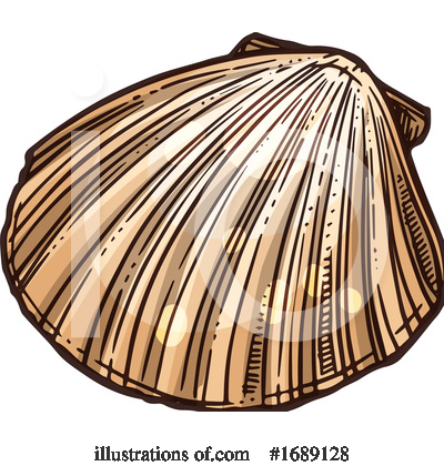 Royalty-Free (RF) Seashell Clipart Illustration by Vector Tradition SM - Stock Sample #1689128