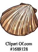 Seashell Clipart #1689128 by Vector Tradition SM