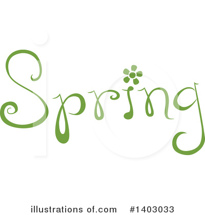 Spring Time Clipart #1403033 by BNP Design Studio