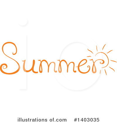 Summer Clipart #1403035 by BNP Design Studio