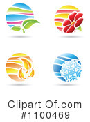 Royalty-Free (RF) Seasons Clipart Illustration #1100469