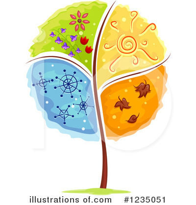 Tree Clipart #1235051 by BNP Design Studio