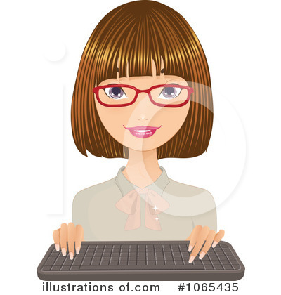 Businesswoman Clipart #1065435 by Melisende Vector