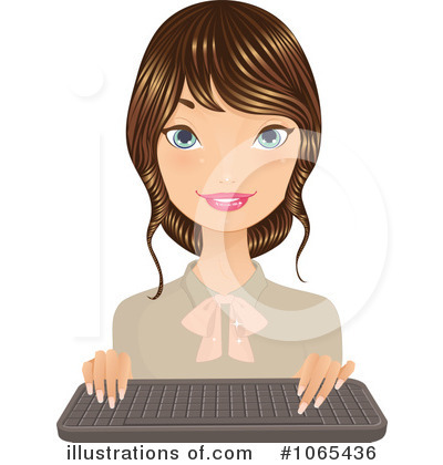 Businesswoman Clipart #1065436 by Melisende Vector