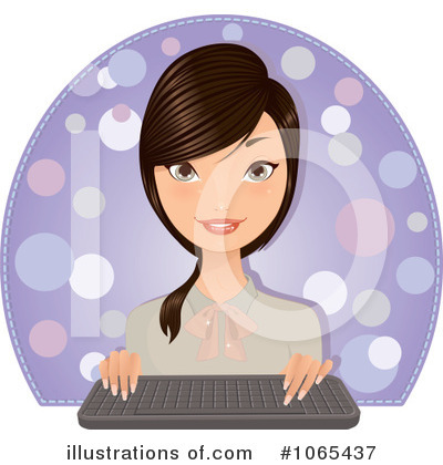 Businesswoman Clipart #1065437 by Melisende Vector