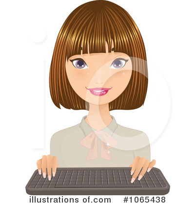 Businesswoman Clipart #1065438 by Melisende Vector