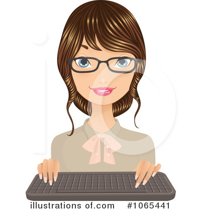 Businesswoman Clipart #1065441 by Melisende Vector