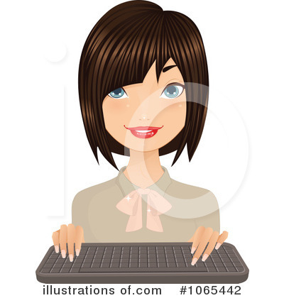 Businesswoman Clipart #1065442 by Melisende Vector