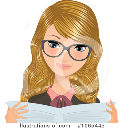 Businesswoman Clipart #1065445 by Melisende Vector