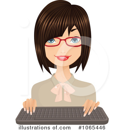 Businesswoman Clipart #1065446 by Melisende Vector