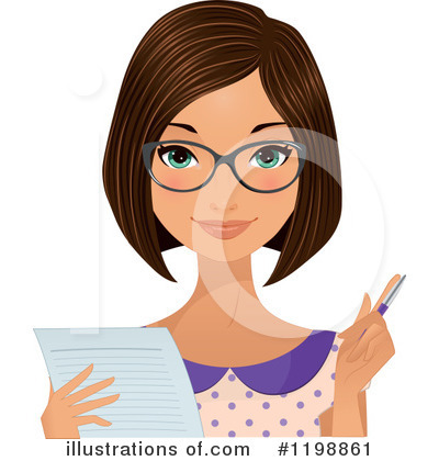Glasses Clipart #1198861 by Melisende Vector