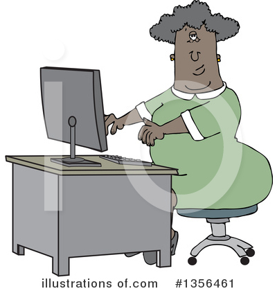 Secretary Clipart #1356461 by djart