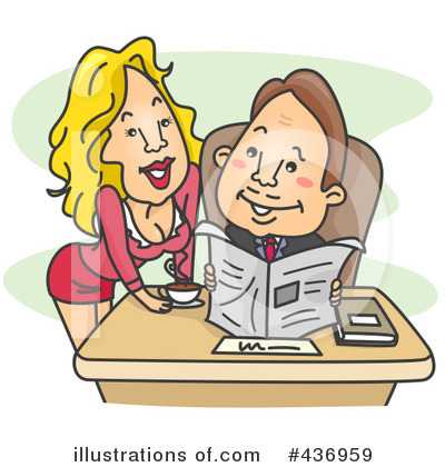 Secretary Clipart #436959 by BNP Design Studio