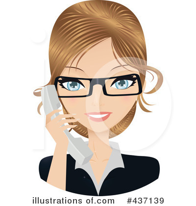 Businesswoman Clipart #437139 by Melisende Vector