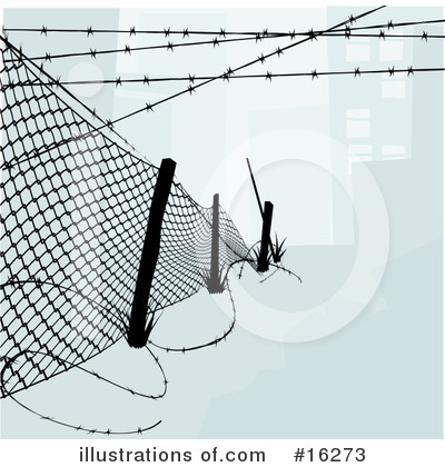 Fencing Clipart #16273 by AtStockIllustration