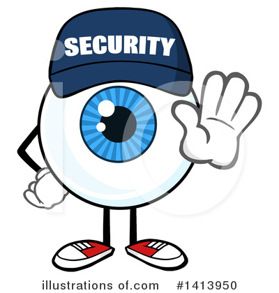 Eyeball Clipart #1413950 by Hit Toon