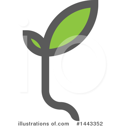 Royalty-Free (RF) Seedling Clipart Illustration by elena - Stock Sample #1443352