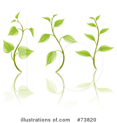 More Clip Art Illustrations of Seedlings