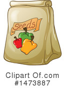 Royalty-Free (RF) Seeds Clipart Illustration #1473887