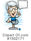 Senior Caucasian Woman Clipart #1502171 by Cory Thoman