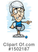 Senior Caucasian Woman Clipart #1502187 by Cory Thoman