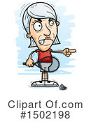 Senior Caucasian Woman Clipart #1502198 by Cory Thoman